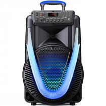 CAIXA DE SOM ACUSTICA SUNNY II 15'' 800W BT/AUX/SD/USB/FM SP396 - 1