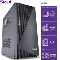COMPUTADOR HOME H200 - AMD A8 9600 3.1GHZ 8GB DDR4 HD 1TB HDMI/VGA FONTE 300W - 1