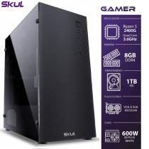 COMPUTADOR GAMER 5000 - RYZEN 5 2400G 3.6GHZ MEM. 8GB DDR4 HD 1TB FONTE 600W - 1