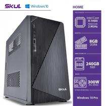 COMPUTADOR BUSINESS B500 - I5 9400 2.9GHZ 9ªGER MEM 8GB DDR4 SSD 240GB HDMI/VGA FONTE 300W WINDOWS 10 PRO - 1