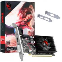 PLACA DE VIDEO AMD RADEON HD 5450 1GB DDR3 64 BITS COM KIT LOW PROFILE INCLUSO - SINGLE FAN - PJ1G5450R3 - 1