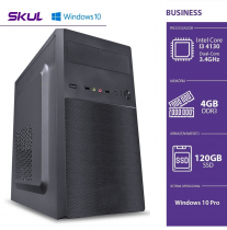 COMPUTADOR BUSINESS B300 - I3 4130 3.4GHZ 4GB DDR3 SSD 120GB HDMI/VGA FONTE 200W WINDOWS 10 PRO - 1
