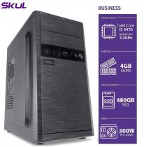 COMPUTADOR BUSINESS B500 - I5 3470 3.2GHZ 4GB DDR3 SSD 480GB HDMI/VGA FONTE 300W - 1