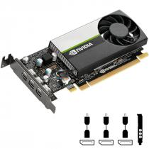 PLACA DE VIDEO NVIDIA QUADRO - T400 2GB GDDR6 64 BITS (3X MDP) - VCNT400-PB - 1