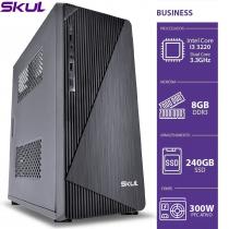 COMPUTADOR BUSINESS B300 - I3 3220 3.3GHZ 3ªGER MEM 8GB DDR3 SSD 240GB  HDMI/VGA FONTE 300W - 1