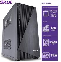 COMPUTADOR BUSINESS B500 - I5 3470 3.2GHZ 3ªGER MEM 8GB DDR3 HD 500GB HDMI/VGA FONTE 300W - 1