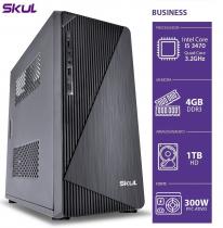 COMPUTADOR BUSINESS B500 - I5 3470 3.2GHZ 3ªGER MEM 4GB DDR3 HD 1TB HDMI/VGA FONTE 300W PFC ATIVO SEM PPB - 1