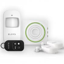KIT DE ALARME WIFI COM SENSORES SEM FIO ESA-KW1080 - 1