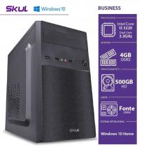 COMPUTADOR BUSINESS B300 - I3 3220 3.3GHZ 4GB DDR3 HD 500GB HDMI/VGA FONTE 200W WINDOWS 10 HOME - 1