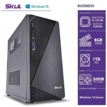 COMPUTADOR BUSINESS B300 - I3 10100 3.6GHZ 10ªGER MEM 8GB DDR4 HD 1TB HDMI/VGA FONTE 300W WINDOWS 10 HOME - 1