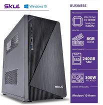 COMPUTADOR BUSINESS B500 - I5 10400 2.9GHZ (4.3GHZ MAX TURBO)  8GB DDR4 SSD 240GB  HDMI/VGA FONTE 300W WINDOWS 10 HOME - 1