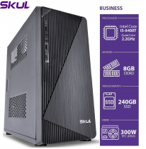 COMPUTADOR BUSINESS B500 - I5 6400T 2.2GHZ (TURBO 2.8GHZ) MEM. 8GB DDR3 SSD 240GB FONTE 300W - 1