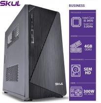 COMPUTADOR BUSINESS B500 - I5 3470 3.2GHZ 3ªGER MEM 4GB DDR3 SEM HD/SSD HDMI/VGA FONTE 300W - 1
