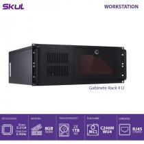COMPUTADOR BUSINESS B500 - SERVIDOR XEON E-2124G 3.4GHZ MEM 8GB DDR4 NON ECC 2X HD 1TB GABINETE RACK 4U FONTE 550W - 1