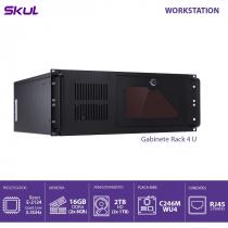 COMPUTADOR BUSINESS B500 - SERVIDOR XEON E-2124G 3.4GHZ MEM 16GB DDR4 NON ECC 2X HD 1TB GABINETE RACK 4U FONTE 550W - 1