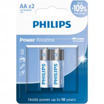 PILHAS ALCALINAS AA BLISTER COM 2 UNIDADES LR6P2B/59 - 1