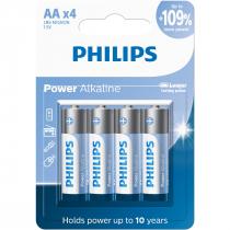 PILHAS ALCALINAS AA BLISTER COM 4 UNIDADES LR6P4B/59 - 1