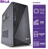 COMPUTADOR BUSINESS B700 - I7 7700 3.6GHZ 8GB DDR3 SSD 240GB HDMI/VGA FONTE 300W - 1