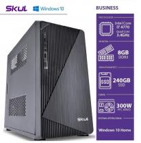COMPUTADOR BUSINESS B700 - I7 4770 3.4GHZ 4ªGER MEM 8GB DDR3 SSD 240GB HDMI/VGA FONTE 300W WINDOWS 10 HOME - SEM PPB - 1