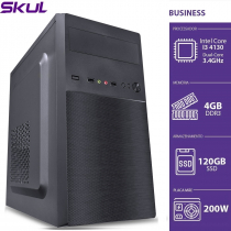 COMPUTADOR BUSINESS B300 - I3 4130 3.4GHZ 4GB DDR3 SSD 120GB HDMI/VGA FONTE 200W - SEM PPB - 1