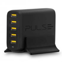 CARREGADOR PULSE DE MESA 5 PORTAS USB SMART-IC 25W CB149 - 1