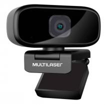 WEBCAM FULL HD 1080P AUTO FOCUS ROTAÇÃO 360° MICROFONE USB PRETO WC052 - 1