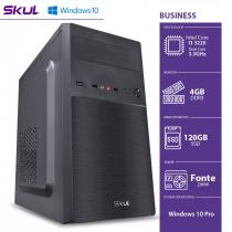 COMPUTADOR BUSINESS B300 - I3 3220 3.3GHZ 3ªGER MEM 4GB DDR3 SSD 120GB HDMI/VGA FONTE 200W WINDOWS 10 PRO - 1
