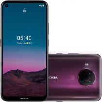 "SMARTPHONE NOKIA 5.4 TELA 6.39"" HD+ CÂMERA TRASEIRA QUÁDRUPLA 48MP+5MP+2MP+2MP ARMAZENAMENTO 128GB - 4GB RAM ROXO NK026 - 1"