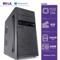 COMPUTADOR BUSINESS B500 - I5 3470 3.2GHZ 8GB DDR3 SSD 240GB HDMI/VGA FONTE 300W WINDOWS 10 PRO - 1