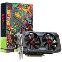 PLACA DE VIDEO NVIDIA GEFORCE GPU GTX 1660 TI 6GB GDDR6 192 BITS DUAL-FAN - GRAFFITI SERIES - PAX1660TI1926GR6 - 1