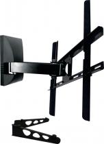 """SUPORTE PARA TV DE LCD DE 10"""" A 70"""" SBRP430 COM SUPORTE PARA DVD PRETO - 1"""
