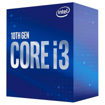 PROCESSADOR INTEL CORE I3-10105, CACHE 6MB, 3.7GHZ (4.4GHZ MAX TURBO), LGA 1200 BX8070110105 - 1