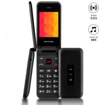 CELULAR COM FLIP VITA 3G PRETO P9140 - 1