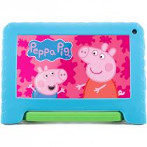 "TABLET PEPPA PIG WI-FI 32GB TELA 7"" ANDROID 11 GO EDITION COM CONTROLE PARENTAL AZUL NB375 - 1"