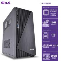 COMPUTADOR BUSINESS B700 - I7 9700F 3.0GHZ 9ª GER. MEM. 16GB DDR4 SSD 1TB GT 1030 2GB FONTE 600W WHITE - 1