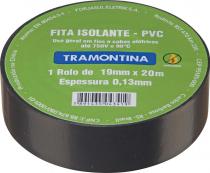 FITA ISOLANTE 5 METROS 0.13 X 19MM PRETA - 1