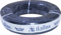 CABO STÉREO PHILIPS 2X0,20MM (24AWG) 100M PRETO - 1