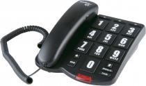 TELEFONE C/ FIO TOK FÁCIL  PRETO TECLAS GRANDES 4000034 - 1