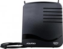 ANTENA INTERNA PARA RECEPÇÃO DE SINAL DE TV VHF / UHF / HDTV / FM - HASTES TELESCÓPICAS - DTV-1100 - 1