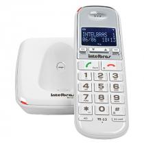 TELEFONE SEM FIO COM  IDENTIFICADOR TS 63 V 1.9GHZ BRANCO 4000082 - 1