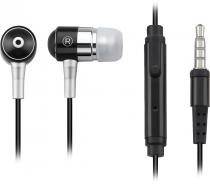 FONE DE OUVIDO COM MICROFONE P2 PH059 PRETO - P2 3.5 MM IPOD, IPHONE, MP3 PLAYER, CELULAR E TABLET - 1