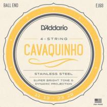 ENCORDOAMENTO PARA CAVAQUINHO EJ93 STAINLESS STEEL WOUND .011 .013 .023 .028 - 1