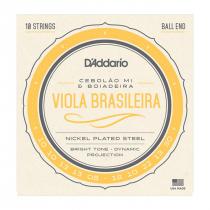 ENCORDOAMENTO DE AÇO PARA VIOLA BRASILEIRA EJ82C - CEBOLÃO MI / BOIADEIRA - 1