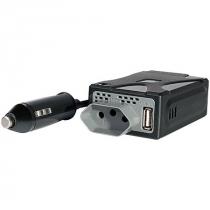 INVERSOR DE POTÊNCIA AUTOMOTIVO 150W  110V SAÍDA USB 5V AU900 - 1