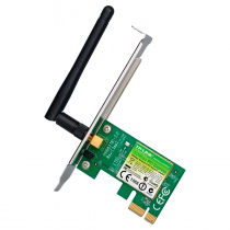 PLACA DE REDE WIRELESS PCI-EXPRESS 150MBPS C/ LOW PROFILE TL-WN781ND - 1
