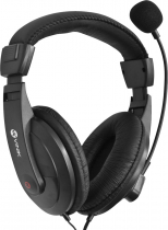 FONE HEADSET GO PLAY FM35 PRETO COM MICROFONE - 1