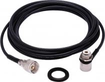 CABO COAXIAL RG-58 3,5 METROS M-801K  CONECTOR UHF - 1