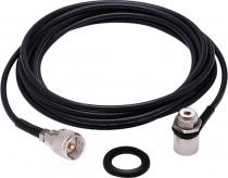 KIT CABO RG-58 5,5 METROS  CONECTOR UHF M-802K