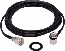 KIT CABO RG-58 5,5 METROS  CONECTOR UHF M-802K - 1