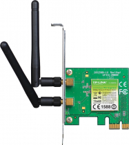 PLACA PCI-E WIRELESS N 300MBPS TL-WN881ND, COM 2 ANTENAS DESTACAVEIS - 1
